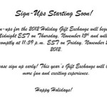 Book Blogger Holiday Swap Announcement
