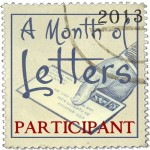 A Month Of Letters 2013 Challenge