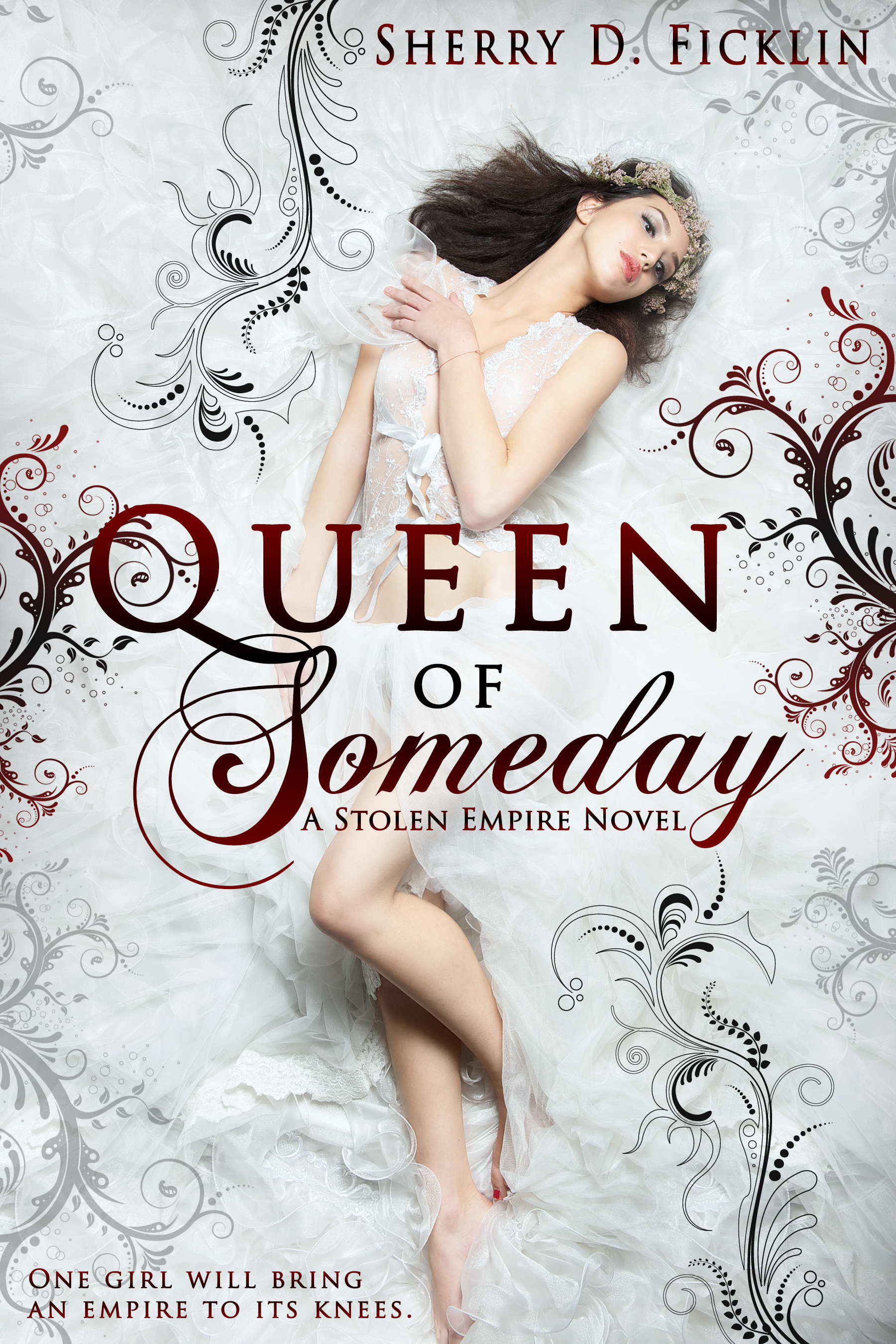 Pretty Book Cover Queen ~ Cover reveal queen of someday cindy s love books