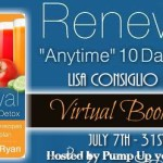 "Book Spotlight/ Renewal ""Anytime"" 10 Day Detox"