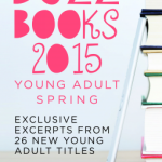 Review/ Buzz Books 2015 Young Adult Spring Edition
