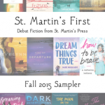 Book Spotlight/ St. Martin's Fall Sampler 2015