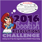 2016 Bookish Resolutions Challenge Goal Post