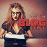 October Blog Ahead Challenge